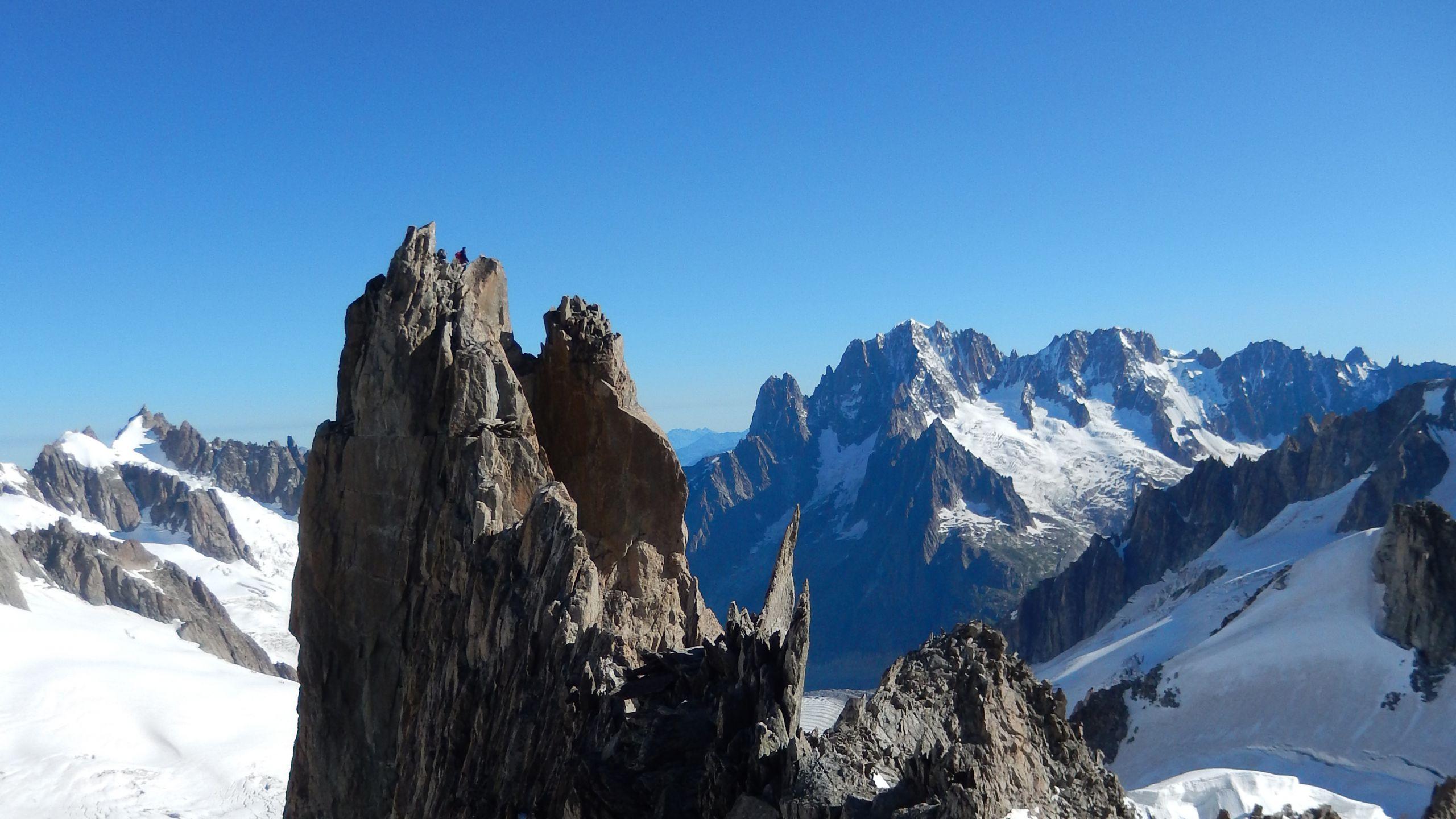 Aiguille d'Entrèves (Monte Bianco) | Trekkinella